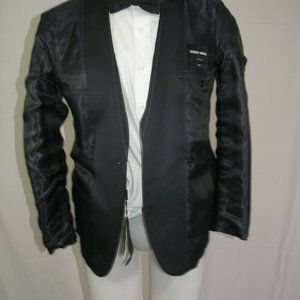 Giorgio Armani Suits & Blazers - Armani Black Label Silk One Button Tuxedo Jacket